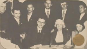 Співробітники кафедри оптики 1939 р