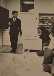Охріменко Б. А. під час лекції