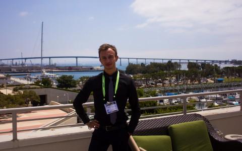 Участь студента кафедри оптики  в міжнародній конференції SPIE Optics + Photonics 2017, Сан-Дієго, США