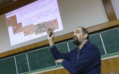 Візит професора Крістіана Тайхерта з університету міста Леобен, Австрія