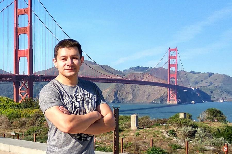 Участь студента кафедри оптики в міжнародній конференції SPIE Photonics West, Сан-Франциско, США